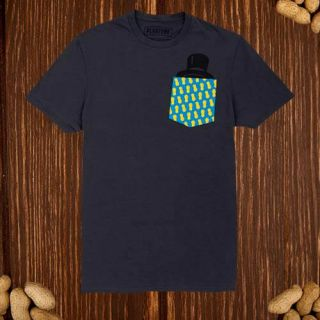 planters-top-hat-pocket-t-shirt