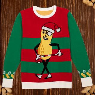 Dancing Mr. Peanut Holiday Sweater
