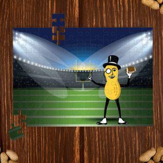 Mr. Peanut Stadium Puzzle