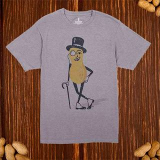 Mr. Peanut Distressed T-shirt