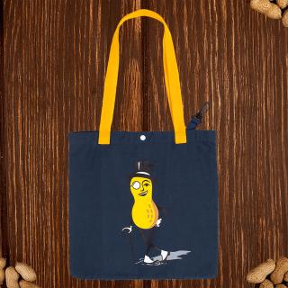 Mr. Peanut tote bag