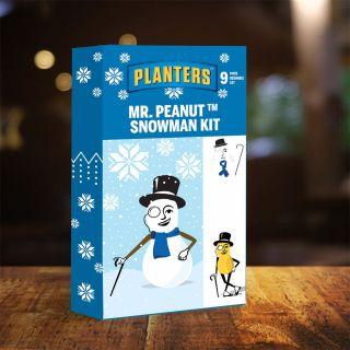 Mr. Peanut Snowman Kit