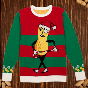 Dancing Mr. Peanut Holiday Sweater