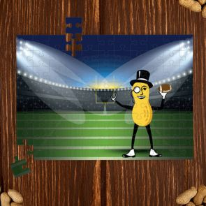 Mr. Peanut Stadium Puzzle